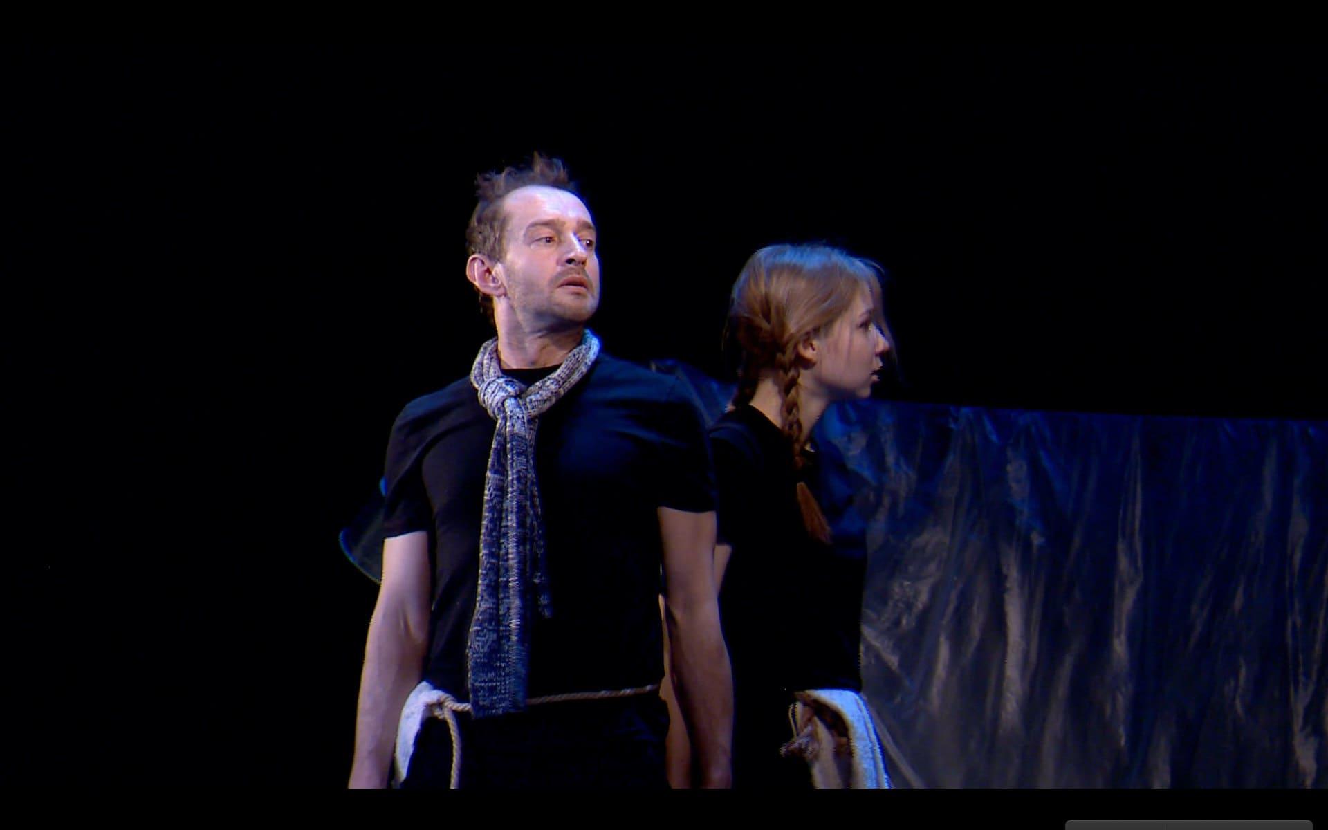 Благотворительный спектакль «Жить на Севере» с Константином Хабенкским