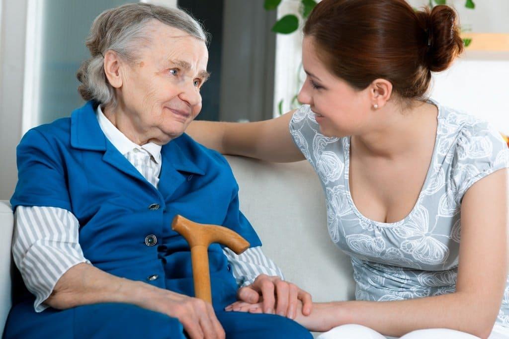 Помощь пожилым людям в России