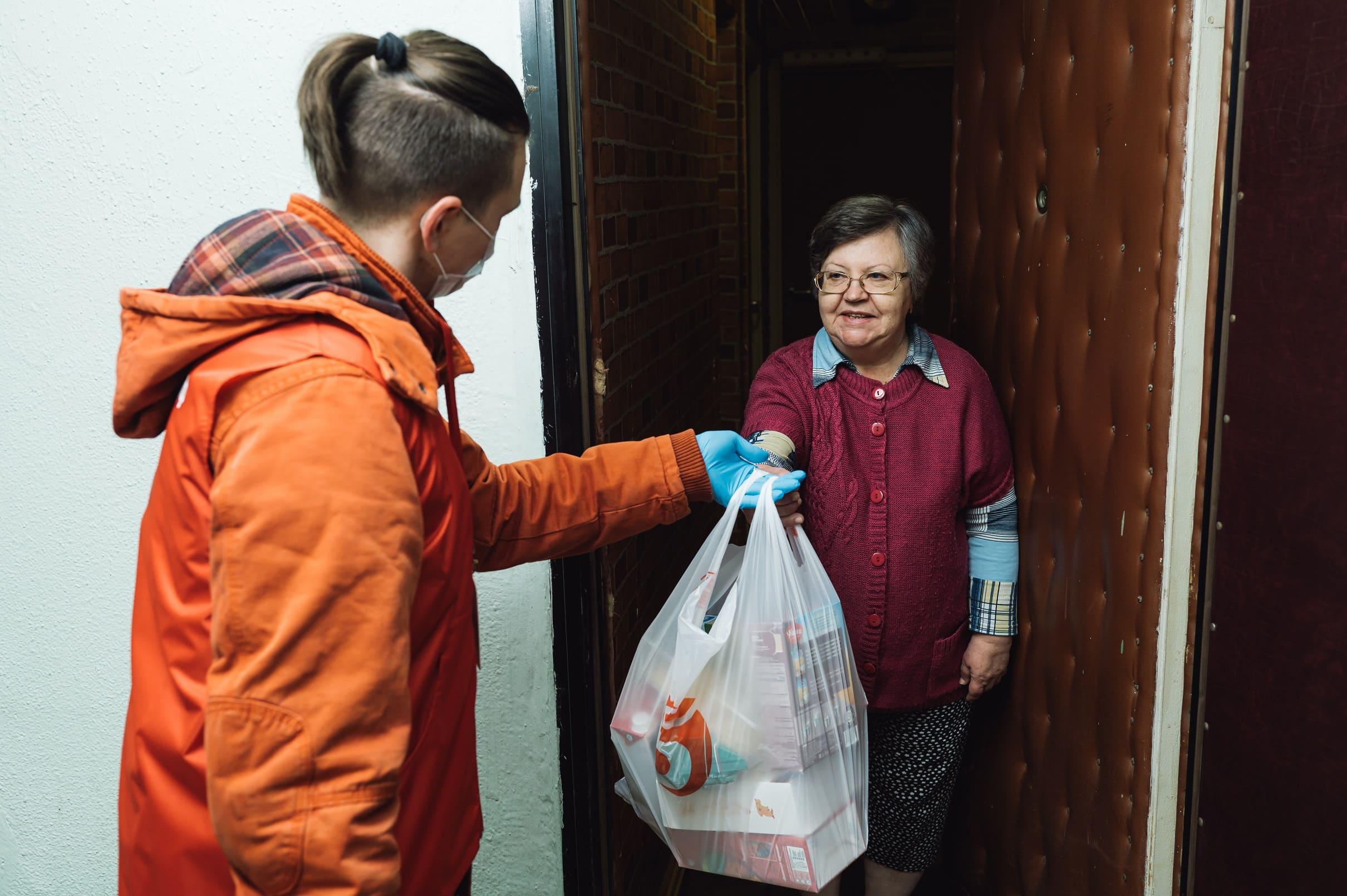 Помощь пожилым людям при коронавирусе