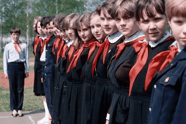 Пионеры, тимуровцы активно привлекались к благотворительной деятельности в Советской России