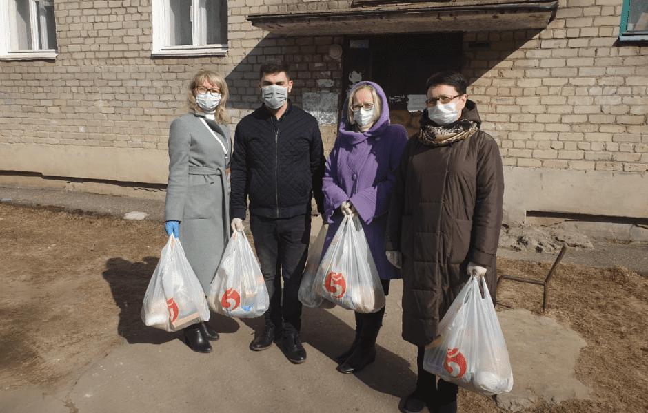 Независимые волонтёры в период коронавируса