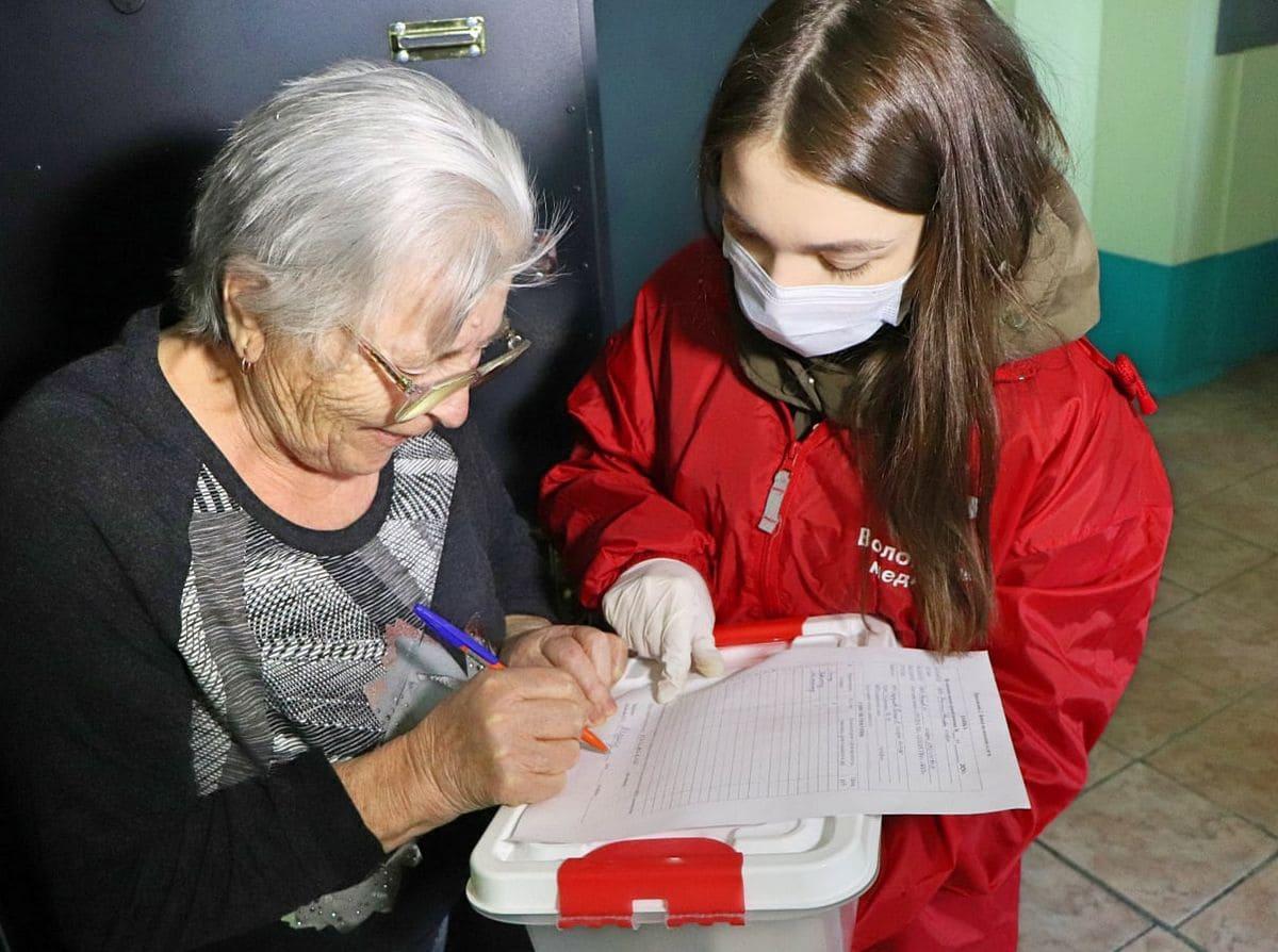 Работа волонтёром в коронавирус