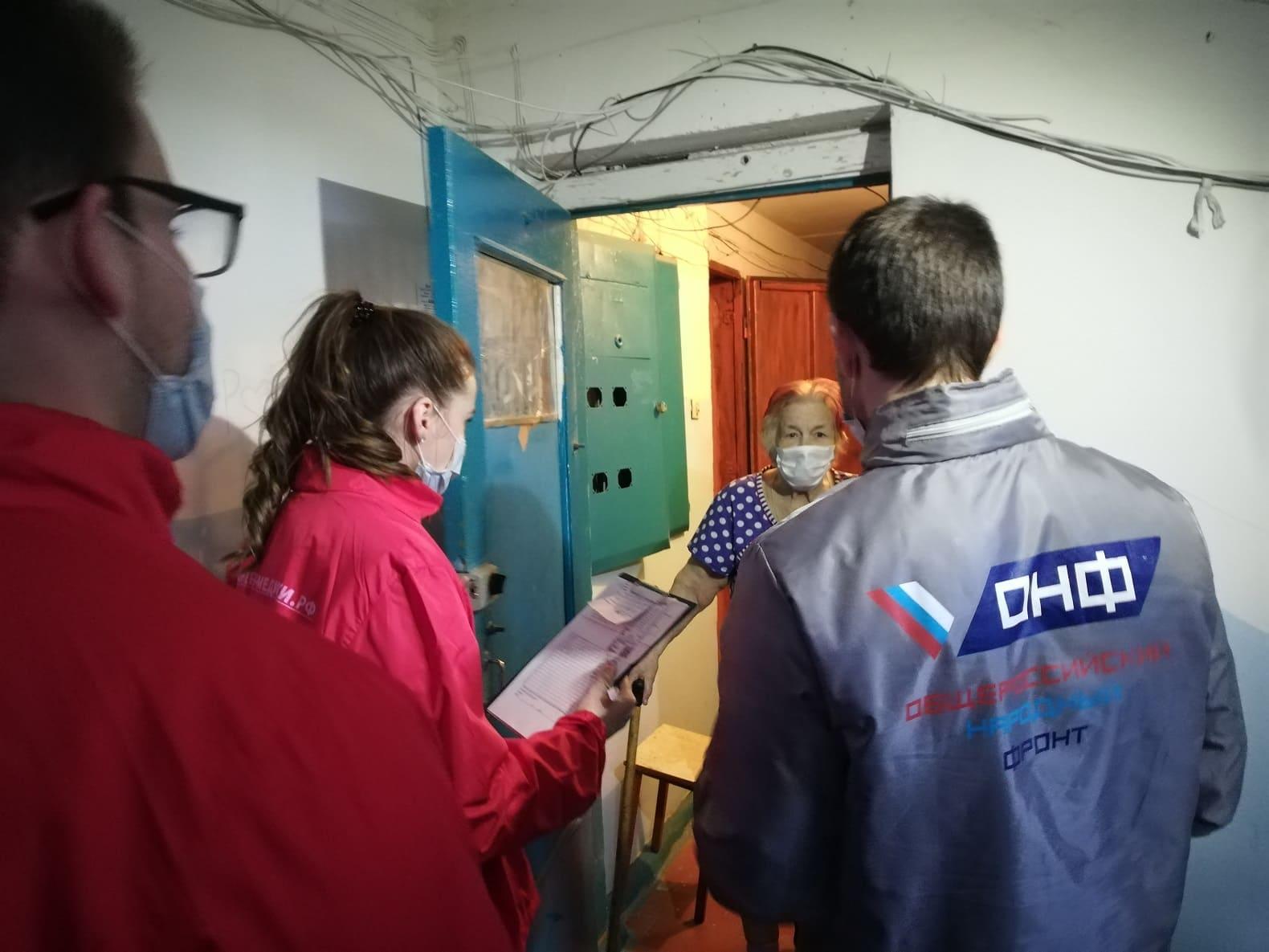 ОНФ помощь пожилым в коронавирус