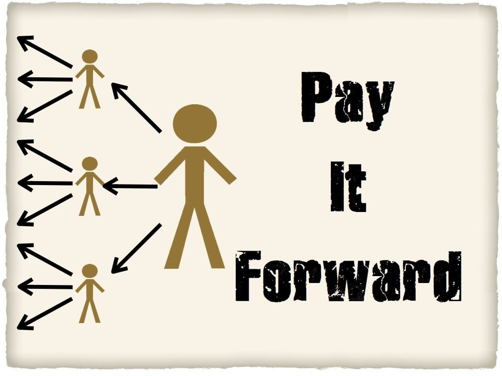 Pay it Forward (Заплати вперед) - цепочка добра