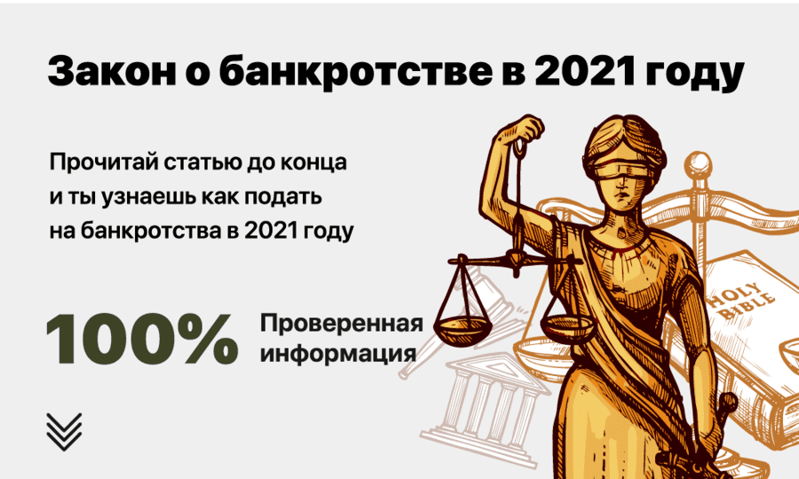Банкротство 2021